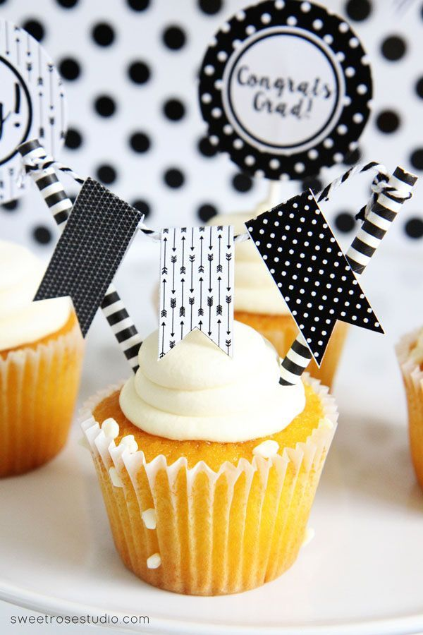 Black-and-White-Graduation-Party-Printables-2