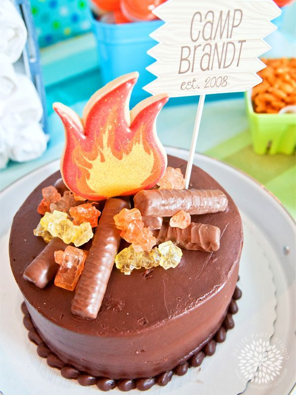 Campfire-Birthday-Cake