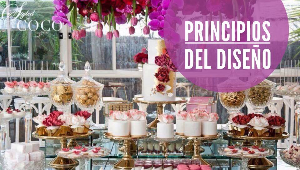 LOS 8 PRINCIPIOS DEL DISEÑO ADAPTADOS A LAS MESAS DE DULCES