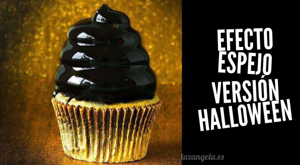 TARTAS Y CUPCAKES EFECTO ESPEJO PARA HALLOWEEN